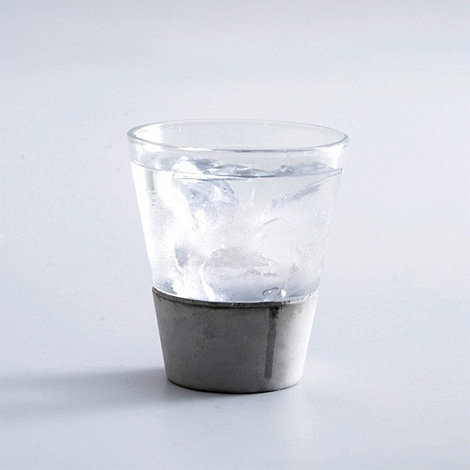 City Rain Concrete Glass