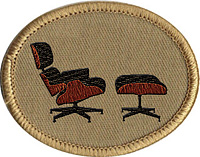 Eames Furniture Spotting scout badge