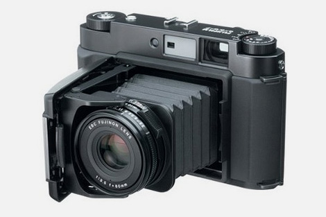 FujiFilm GF670 medium format folding film camera