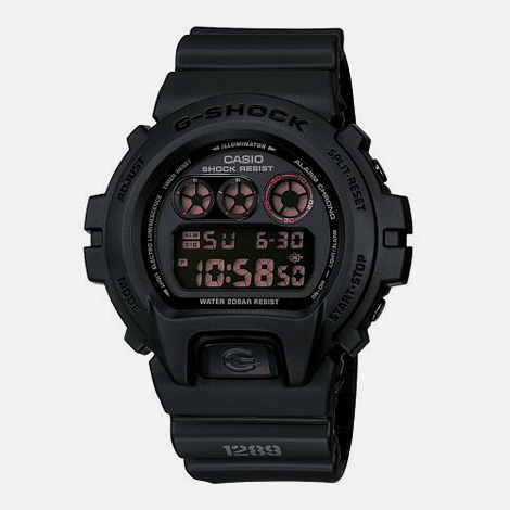 G-Force Military Concept Black Digital Watch