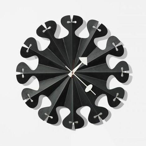 Pleated Star Wall Clock