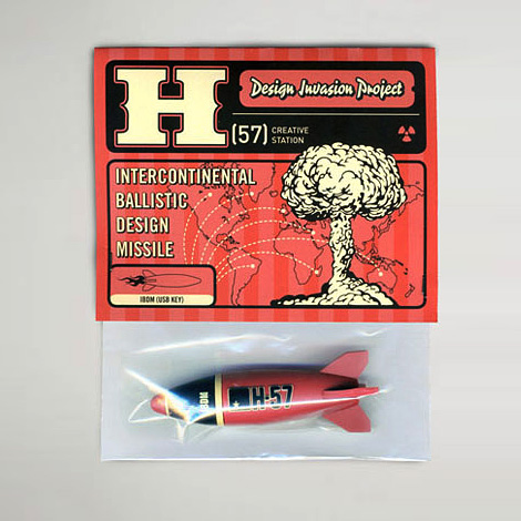 H57 Intercontinental Design Missile