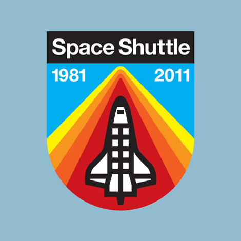 Draplin Design: Space Shuttle Bicentennial