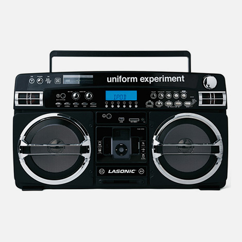 Uniform Experiment iPod Boombox