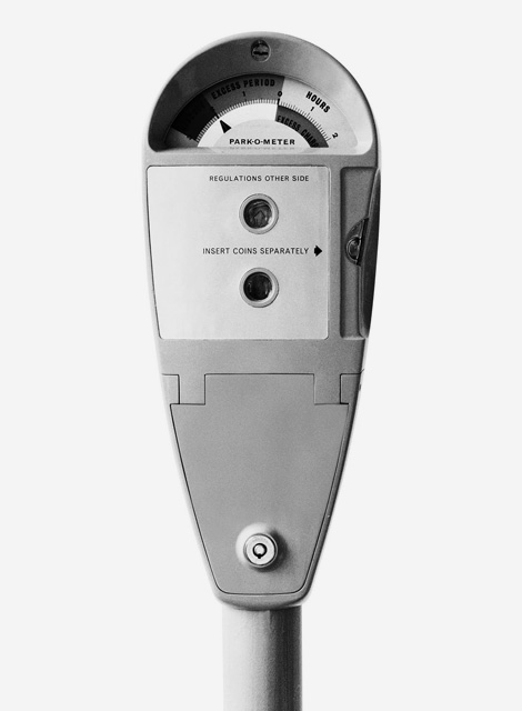 Kenneth Grange Parking Meter