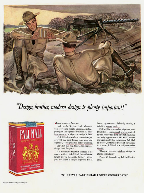Vintage tobacco ad