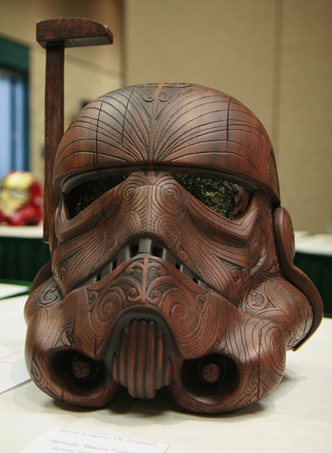 Wooden Stormtrooper