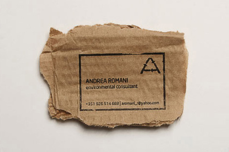 Environmental Business Card
