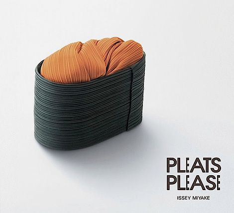 Pleats Please - sushi ad