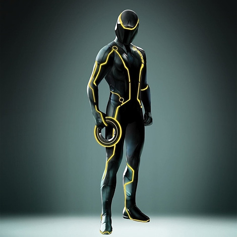 Tron Legacy: Disc suit