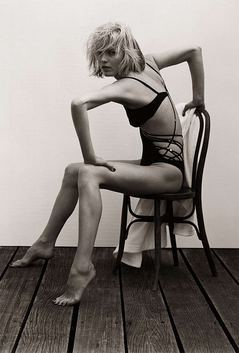 Eva Herzigova by Matthew Brookes