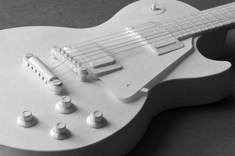 Pepakura paper guitar kit