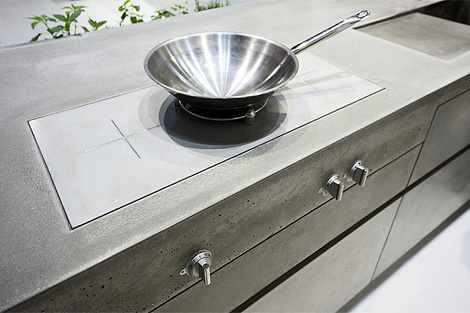 Steininger concrete kitchen