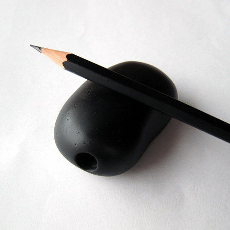 Stone pencil sharpener