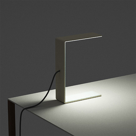 Hundreds Tens Units - A4 Lamp