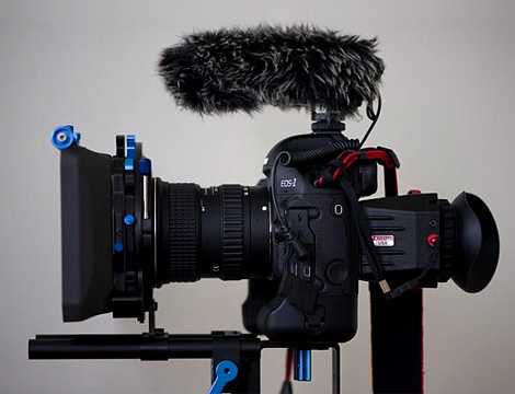 HD video DSLR setup