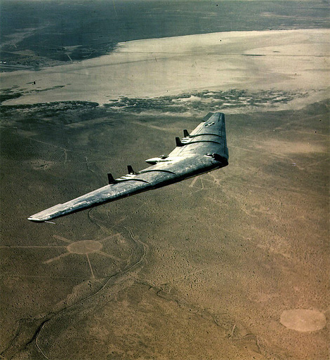 Northrop YB-49 over Edwards AFB