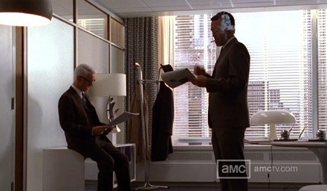 Roger Sterling's office