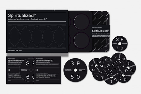 Spiritualized - Ladies and Gentleman we are floating in space (black edition)
