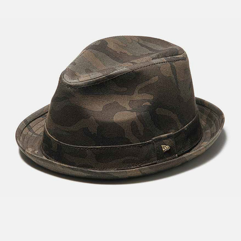 New Era EK Fedora Woodland Camo