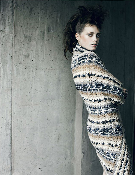 Milly Simmonds x Signe Vilstrup for Tush Fall 2011