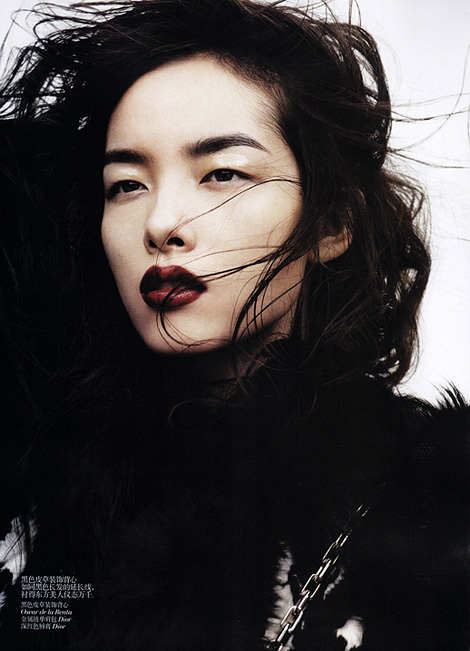 Liu Wen x Vogue China