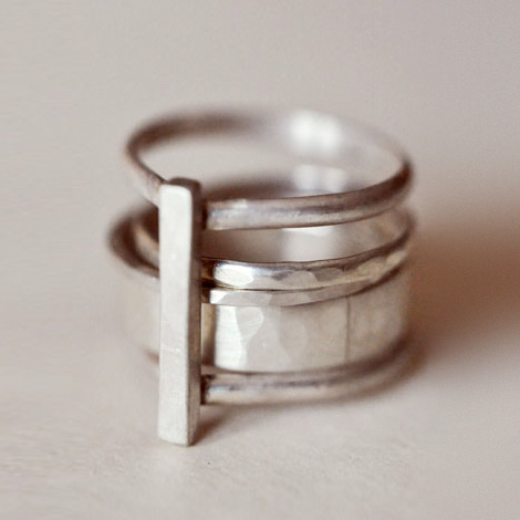 Anna Sheffield & Lindsey Thornburg Tear Drop Ring