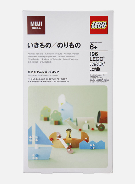 LEGO® Bricks and MUJI Paper