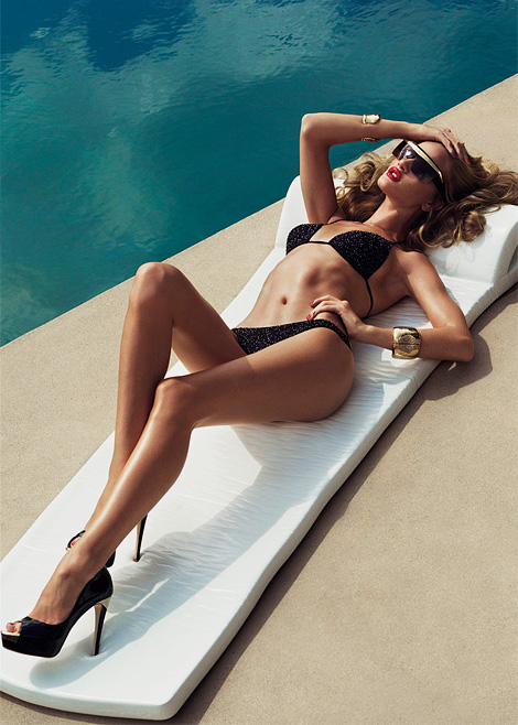 Rosie Huntington-Whiteley x Tom Munro