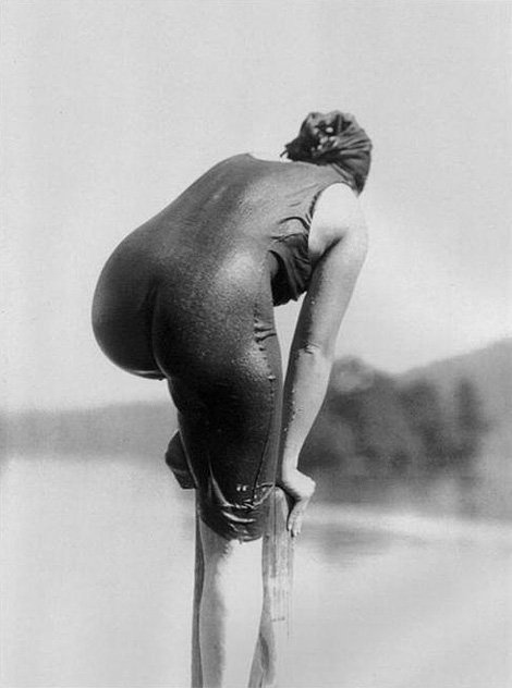 Ellen Morton at Lake George, 1915, by Alfred Stieglitz.