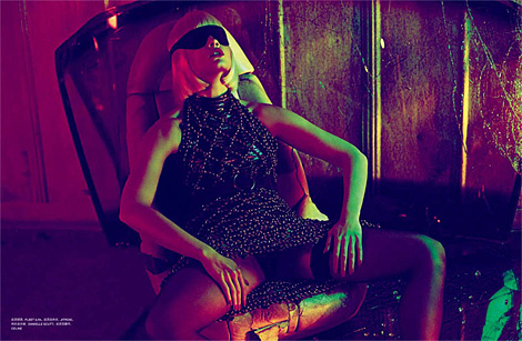 Crystal Renn by Txema Yeste for Numro China March 2012