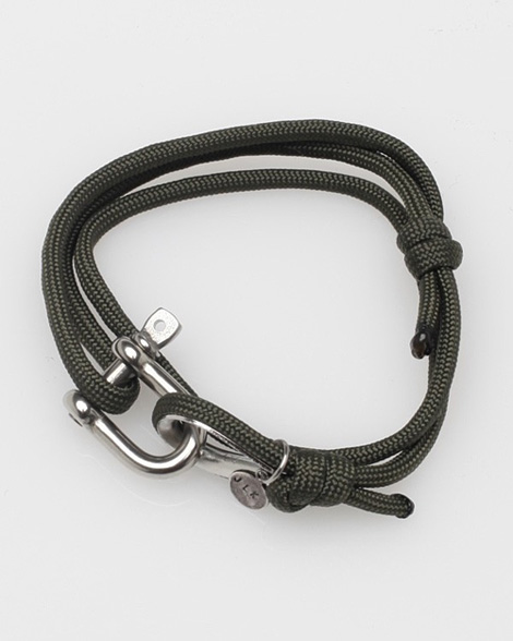 Olive Nautical Shackle