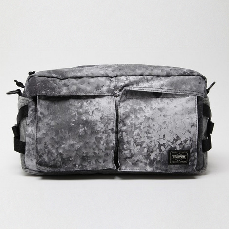 White Mountaineering x PORTER Digital Camo Corduroy Waist Pack
