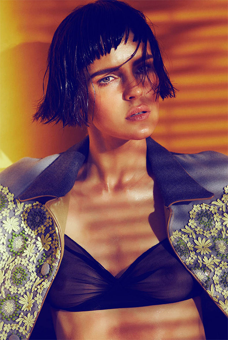 Katharina Friedrich x Alvaro Beamud Cortes for Urban Magazine