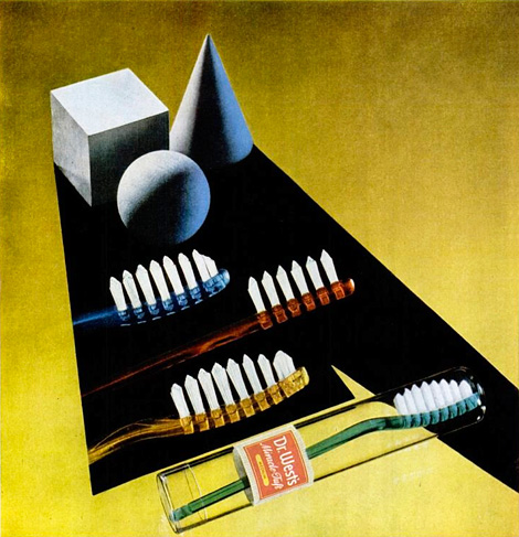 Dr Wests Toothbrushes 1949
