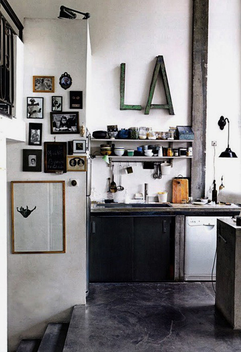 Industrial kitchen | iainclaridge.