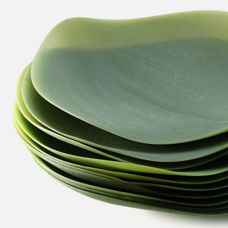 Nao Tamura: Seasons serving plates