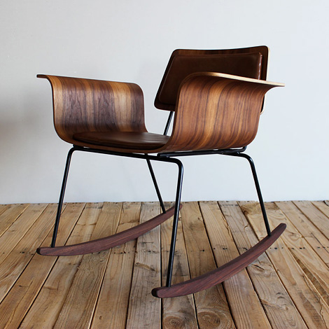 onefortythree bent plywood chair
