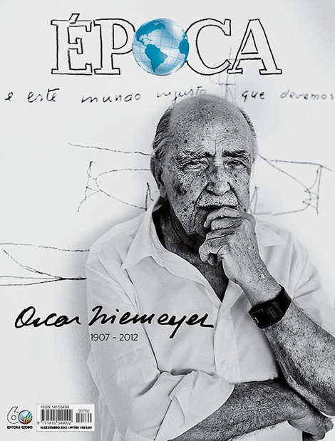 ÉPOCA tribute to Oscar Niemeyer