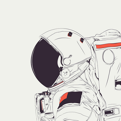 astronaut design - photo #10