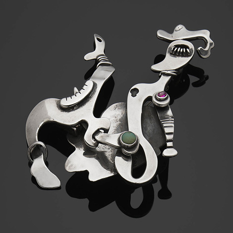 Sam Kramer: Lovers Brooch