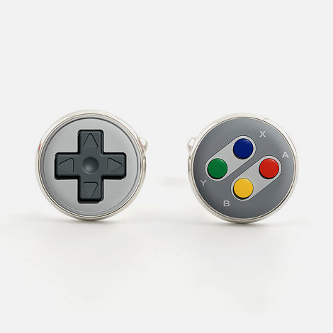 Games controller cufflinks