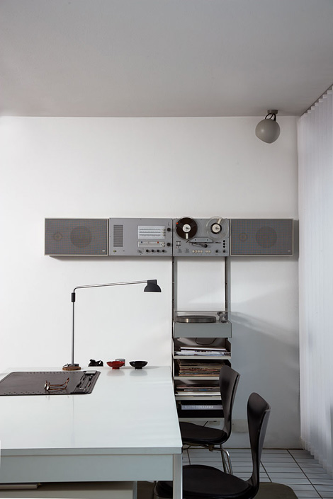 Dieter Rams workspaces