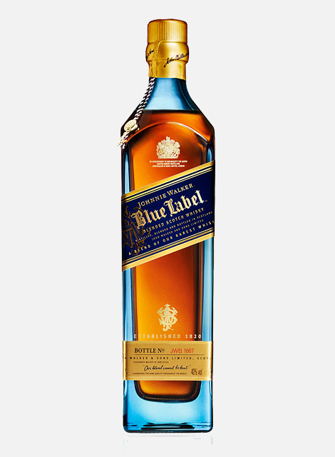 Johnnie Walker Blue Label premium blended whisky