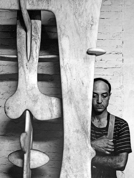 Isamu Noguchi x Arnold Newman