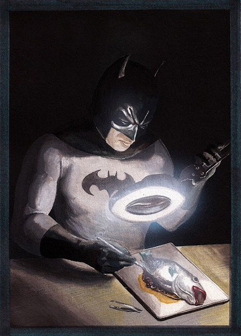 Batman x Paul Limgenco