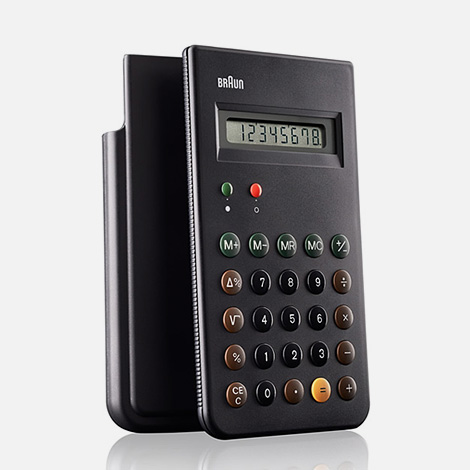 Braun ET66 calculator reissue