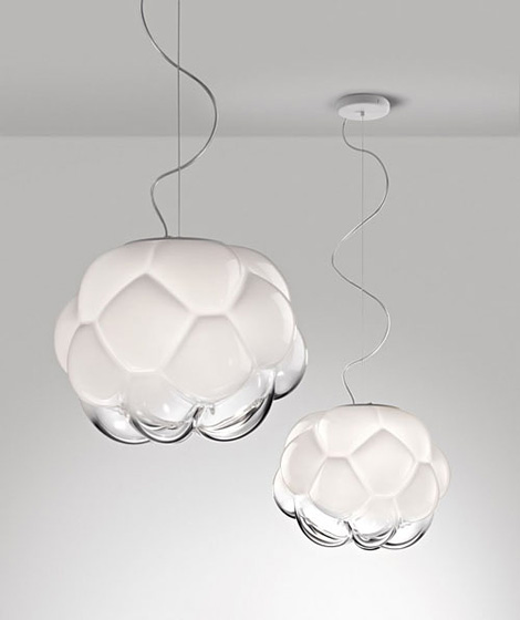 Cloudy pendant lamp