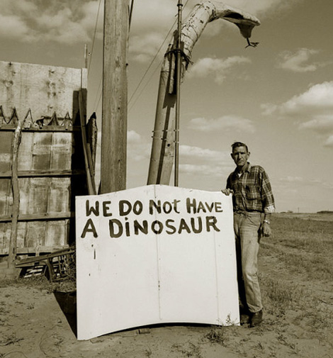 We do not have a dinosaur