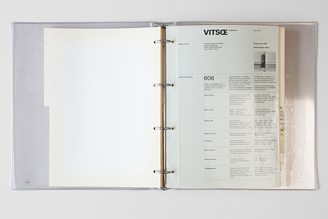 1973 Vitsœ catalogue